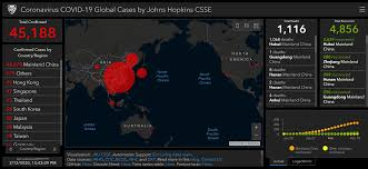 This interactive map tracks Wuhan Coronavirus global cases in near ...