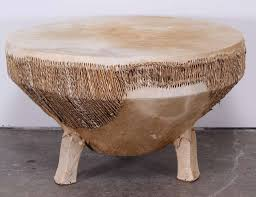 drum table drum coffee table