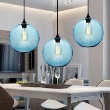 glass pendant lighting bar lamp modern