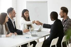 Negotiation Table Stock Photos And Images - 123RF