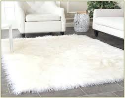 white fur area rug latour co