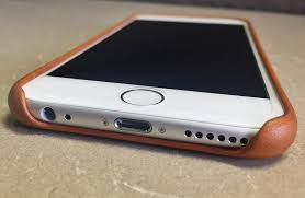 apple iphone 6 6s saddle brown leather