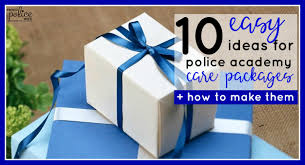 gifts for police academy grads