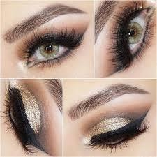 12 pretty green eye makeup looks to