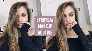 everyday make up routine winter 2016