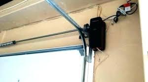 garage door opener wall mount