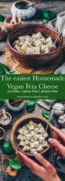 vegan feta cheese recipe easy dairy
