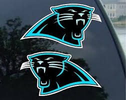 Panthers Decal Etsy