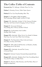 coffee table of contents j s park