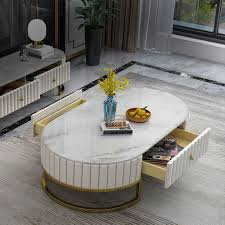 modern 47 in 2020 marble coffee table
