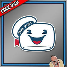 Ghostbusters Stay Puft Car Decal Window Bumper Wall Laptop Sticker Film Movie 2 49 Picclick Uk