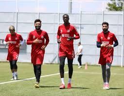 Sivasspor'da Göztepe maçı hazırlıkları başladı