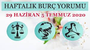 TERAZİ AKREP YAY haftalık yorumu 29 haziran 5 temmuz 2020 Astrolog ...