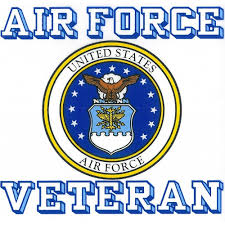 Shop Us Air Force Veteran With Usaf Seal Car Decal Overstock 10350243