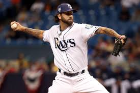 Chaz Roe and his slider are moving all over the mound - DRaysBay