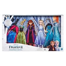 disney frozen 2 fashion doll set