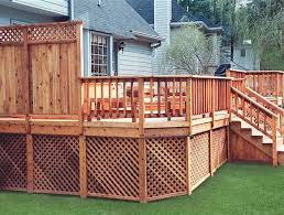 Pin By Mandy On Backyard Storage Ideas Patio Deck Designs Privacy Screen Deck Under Deck Storage