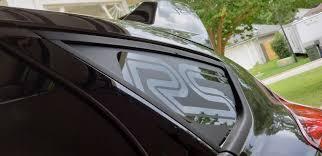 Ford Focus Rs Quarter Window Decal S Thetonyanderson Com
