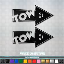 Jdm Drifting Tow Hook Arrow Vinyl Decal Sticker Pack Car Window Funny Racing Ebay