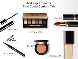 is talc in makeup safe side effects