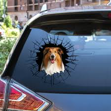 Get In It S Time For Shopping Rough Collie Car Door Fridge Lapt Follus Com