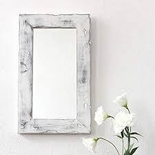 wooden framed mirror com