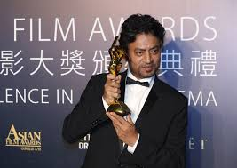 Irrfan Khan wins best actor at Asian Film Awards