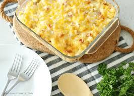 easy ham and potato cerole recipe
