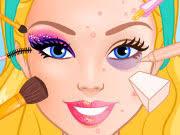 barbie makeup artist play the