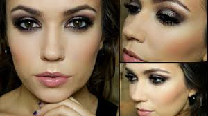glam evening look makeup tutorial
