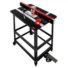 Woodpeckers Prp 2 V2420 Premium Phenolic Router Table With Router Lift Burnstools Com