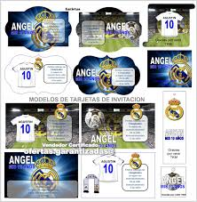 Tarjetas Cumpleanos Real Madrid