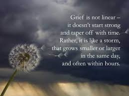 unknown author quote grief poetry