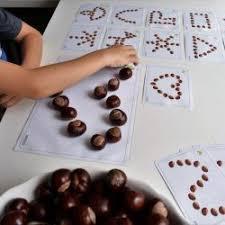Kaštany | Fall crafts for kids, Autumn activities for kids, Kindergarten  activities