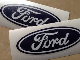 Pre Made Ford Vinyl Decals And Paint Stencils