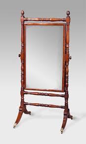 small antique cheval mirror antique