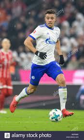 Monaco di Baviera, Germania. 10 Febbraio, 2018. Schalke è Franco Di Santo  in azione durante la Bundesliga tedesca partita di calcio tra il Bayern  Monaco e FC Schalke 04 di Allianz Arena