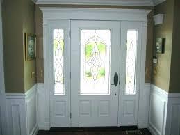 door side panel curtains
