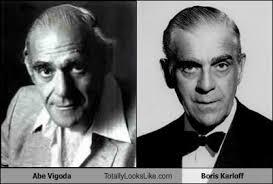 Abe Vigoda Looks A Bit Like Boris Karloff - Totally Looks Like