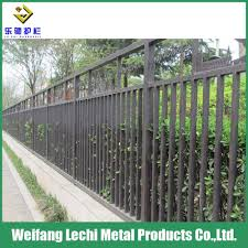 China Elegant Appearance And Modern Design Outdoor And Indoor Iron Fence China Fence Coated