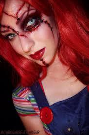 chucky doll makeup tutorial saubhaya