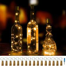 16 Đèn LED hình nút bần dùng trang trí chai rượu giảm chỉ còn 255,559 đ