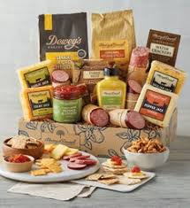 meat cheese gift baskets