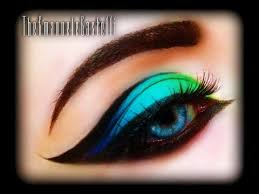 spring make up tutorial exotic y