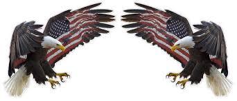 Uv Laminated American Eagle American Flag X Large Pair Decal Nostalgia Decals Die Cut Vinyl Stickers Nostalgia Decals Online