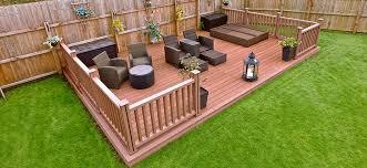 composite deck ideas for your garden