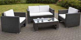 garden table and chairs at b m latest