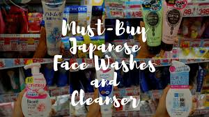 anese face washes and cleansers
