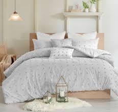 gray twin queen cal king comforter set