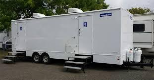 porta potty vs restroom trailer how